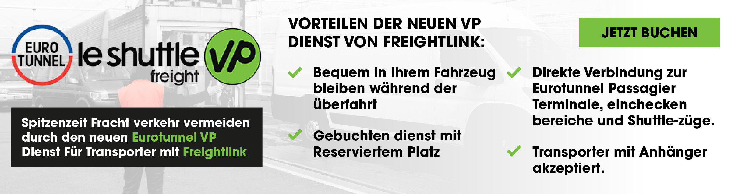 Eurotunnel VP Vans Passengers Service