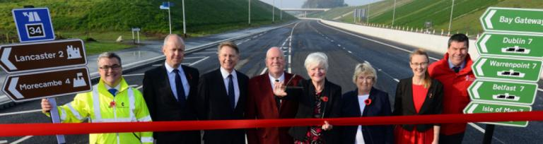 Heysham M6 Link Road Bay Gateway Now Open