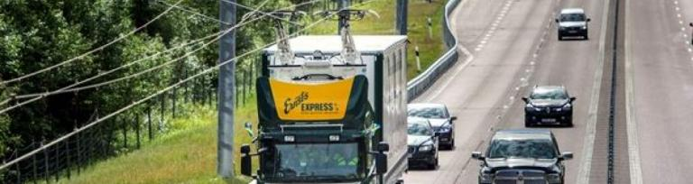 electric highway trucks sweden