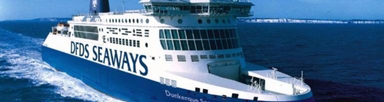 DFDS Fracht Fahre nach Dunkirchen
