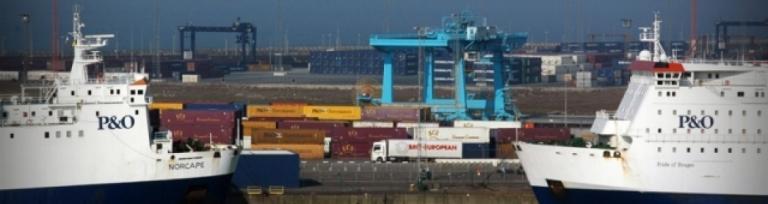 P&O Zeebrugge terminal expansion