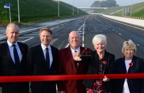 Heysham M6 Link Road Bay Gateway Now Open