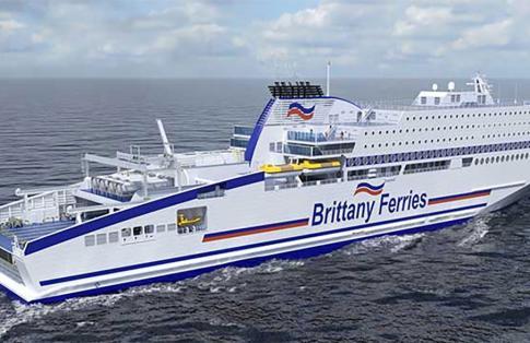 Brittany Ferries Honfleur LNG ferry