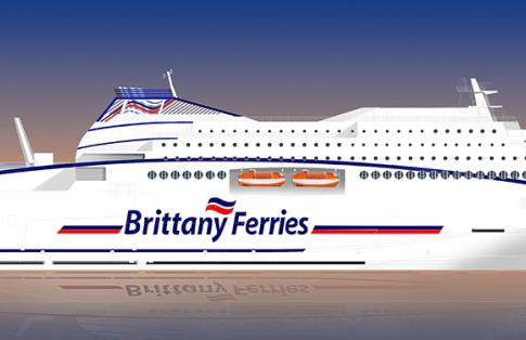 Brittany Ferries New LNG Powered Ferry
