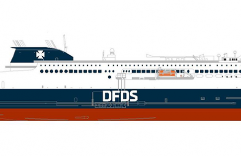 DFDS ferry English Channel 2021