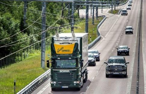 electric highway trucks sweden