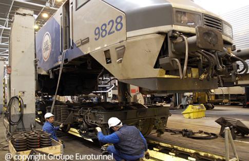 eurotunnel maintenance