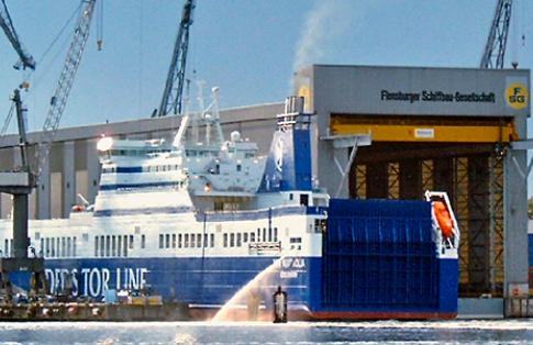 Flensburger shipyard