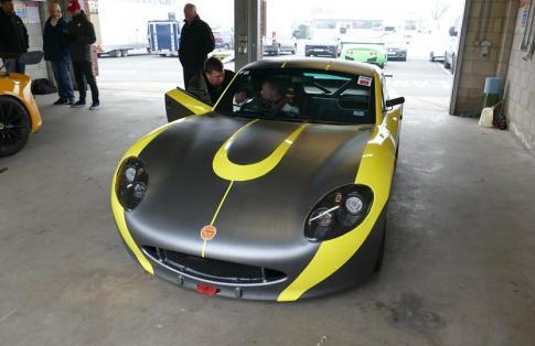 Luke Pinder Racing New Car