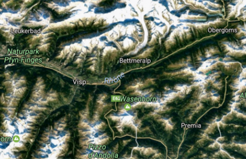 Martigny to Valais