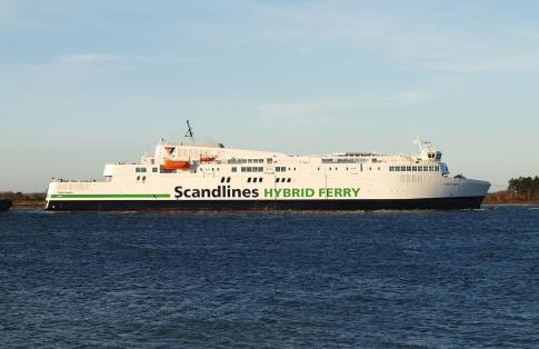 Scandlines Copenhagen Hybrid Ferry