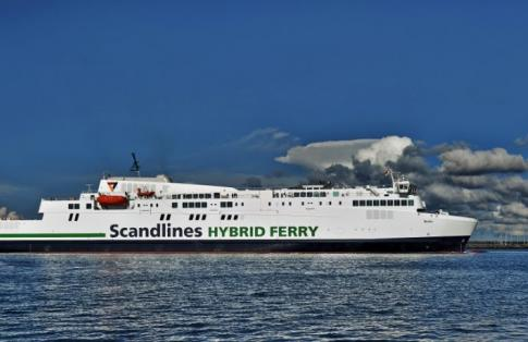 scandlines MV berlin at sea